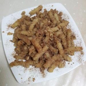 Paste spirale cu pesmet, nuca, scortisoara si miere